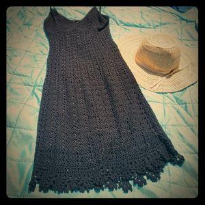 Crochet Carmen Marc Valvo LBD 🖤